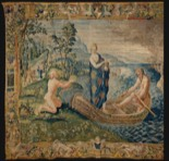 Preview of the tapisserie Psyché in Charon's boat